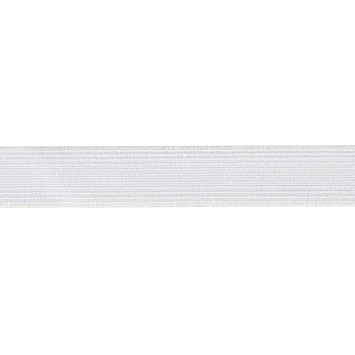 3/4'' Braided Elastic White Style 310492 by Notions Marketing in USA