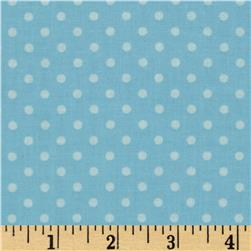 Bumper-2-Bumper Dot Light Blue Fabric