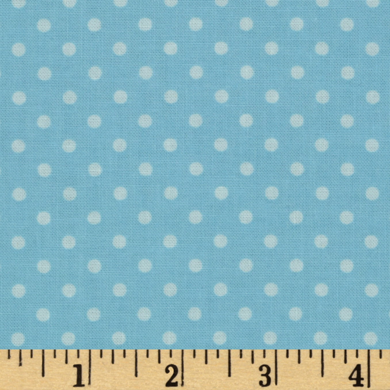 Bumper-2-Bumper Dot Light Blue