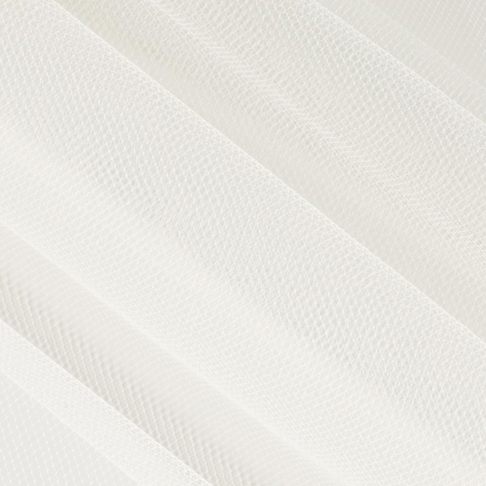 """108"""" Wide Nylon Tulle Oyster"""