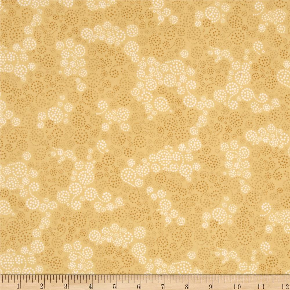 Essentials Flannel Sparkle Light Yellow