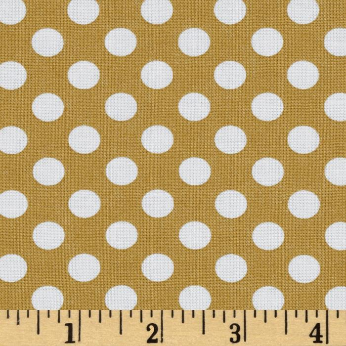 Kaufman Spot On Medium Dot Camel