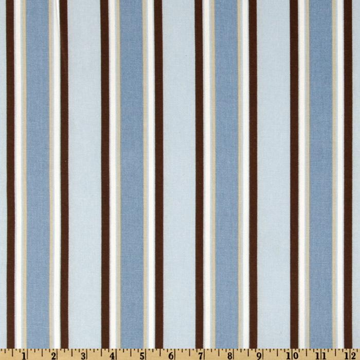 Premier Prints Morgan Stripe Mist/Putty