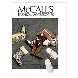McCall's Slippers and Booties Pattern M6449 Size OSZ