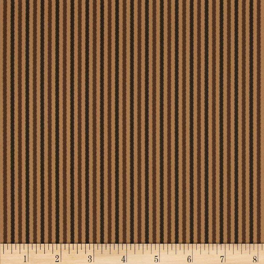 Bella-Dura Eco-Friendly Indoor/Outdoor Asbury Stripe Brown