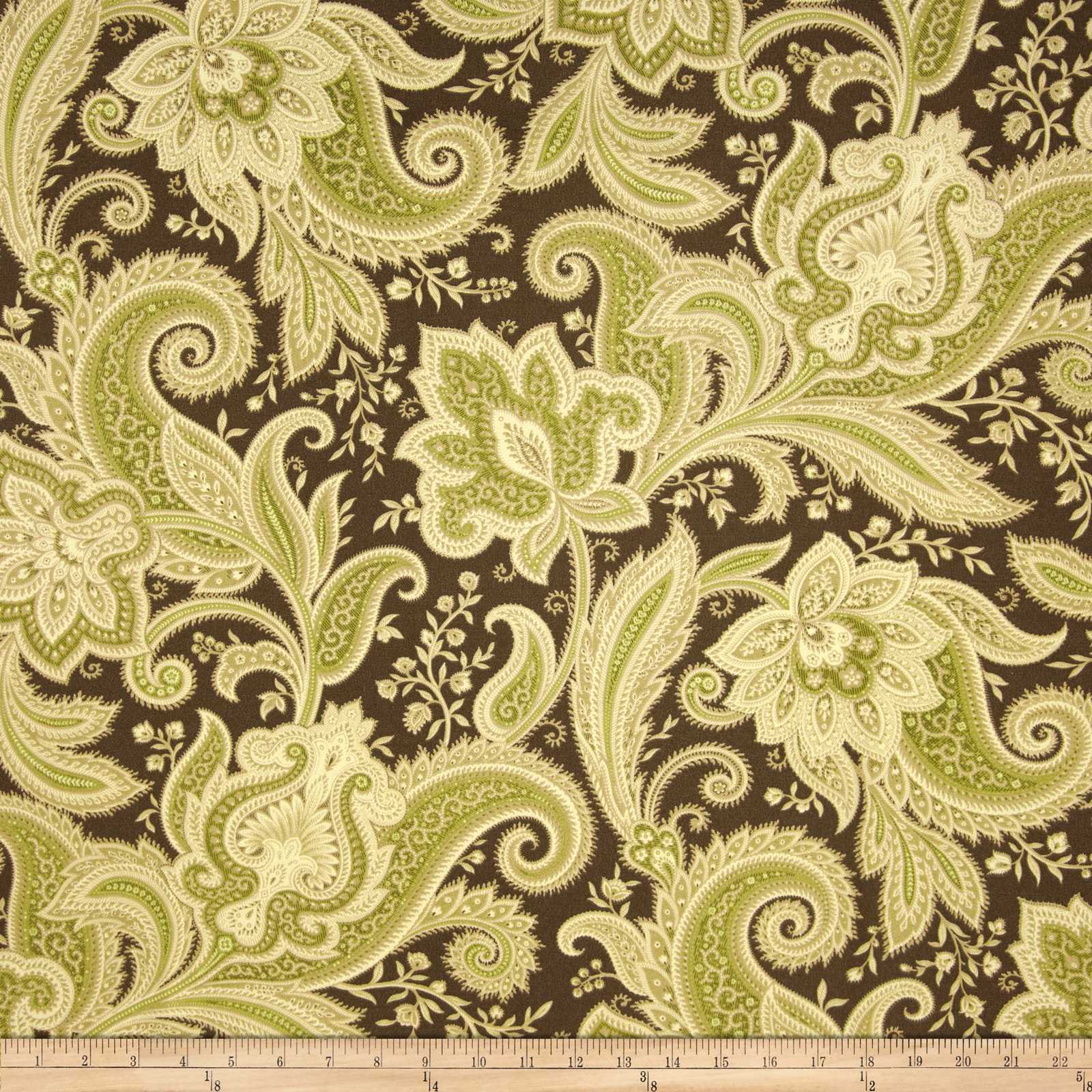 Waverly Sun N Shade Rustic Retreat Rainforest Fabric