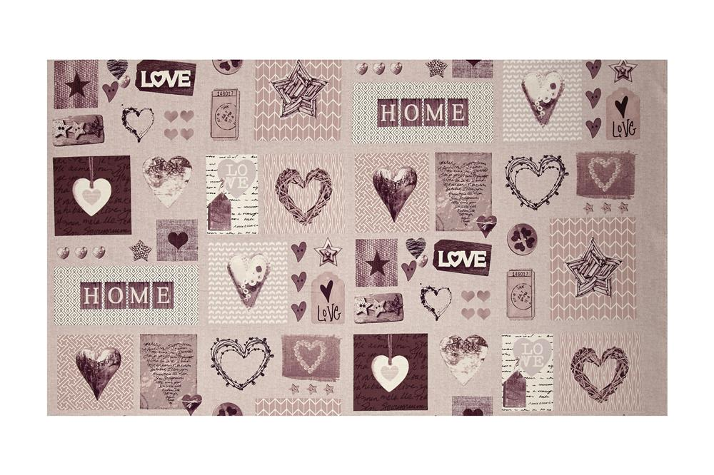 Cosy Home Love Heart and Home Pink