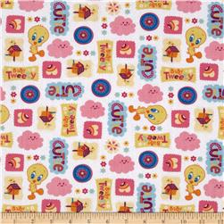 Baby Tweety Cutie White/Multi Fabric