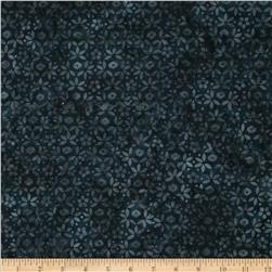 Bali Batiks Hexi Floral Midnight Fabric