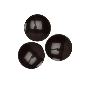 Fashion Button 3/8'' Denver Black