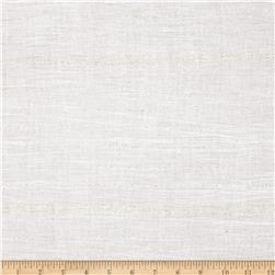 Cotton Sparkle Voile Stripes White/Gold Fabric