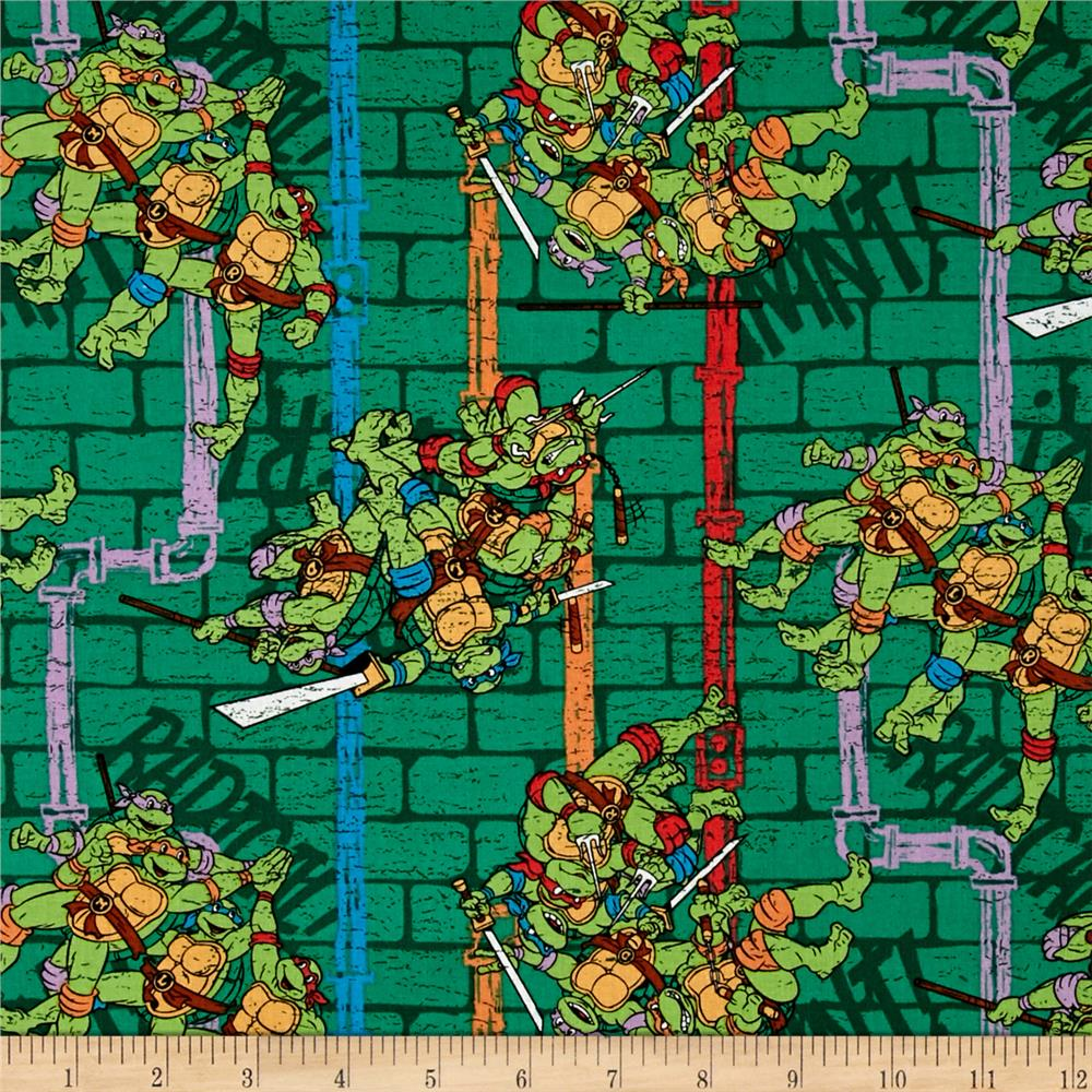 Nickelodeon Teenage Mutant Ninja Turtles Sewer Pipe Stripe