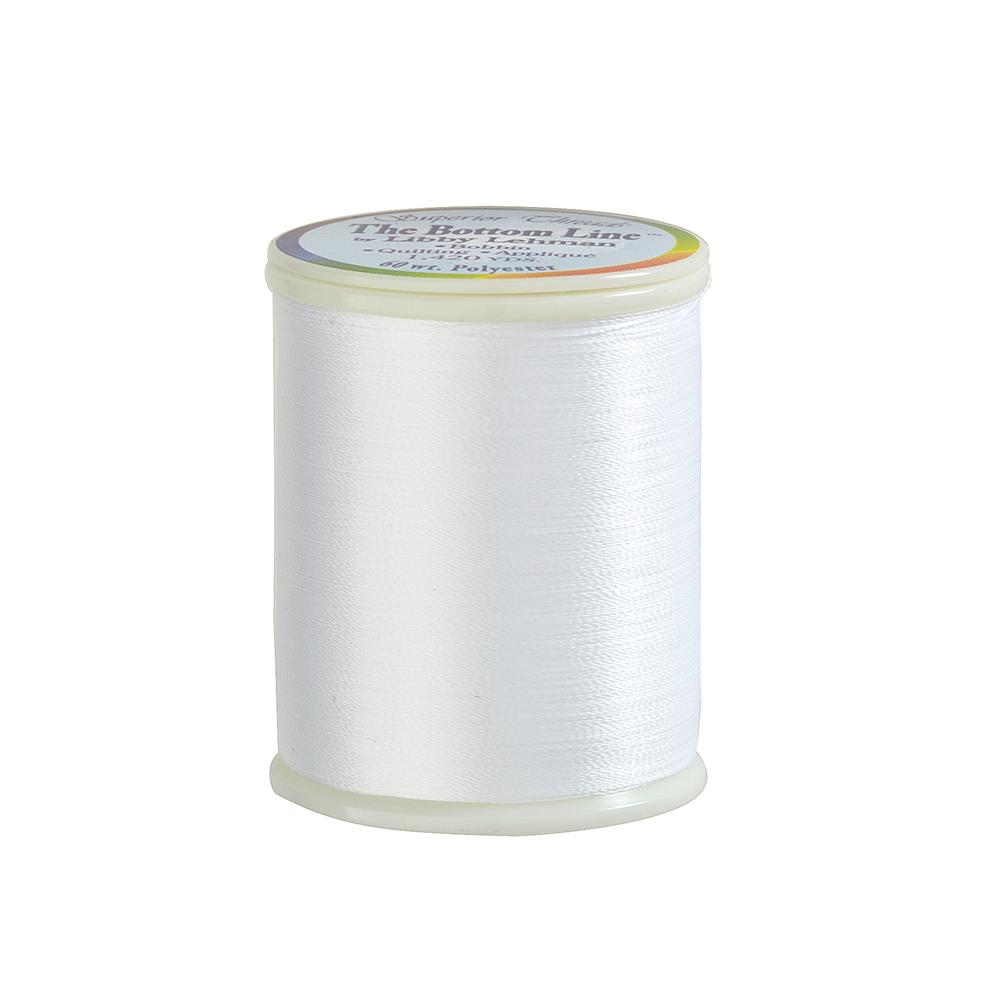 Superior Bottom Line Polyester Thread 60wt 1420yds Cream