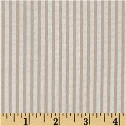Cotton Seersucker Stripe Khaki