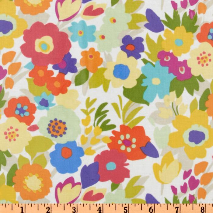 Yard Sale Laminated Cotton Floral Multi