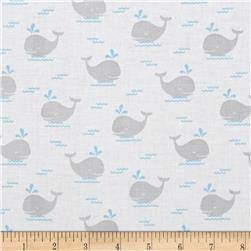 Fun & Games Whale Gray