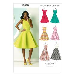 Vogue Misses' Dress Pattern V8998 Size A50