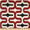 Premier Prints Indoor/Outdoor Embrace Rojo Red