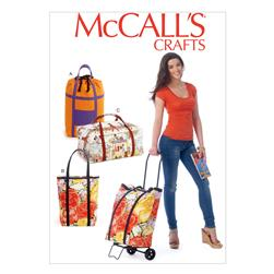 McCall's Luggage Cart Bags Pattern M6979 Size OSZ