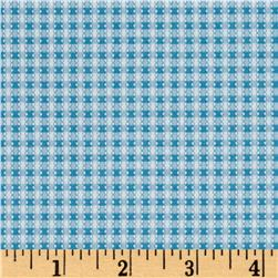 Simply Chic Gingham Sky Blue