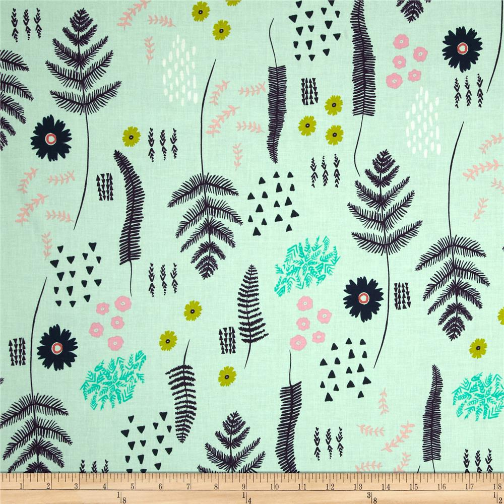 Cotton + Steel Mesa Fern Book Mint
