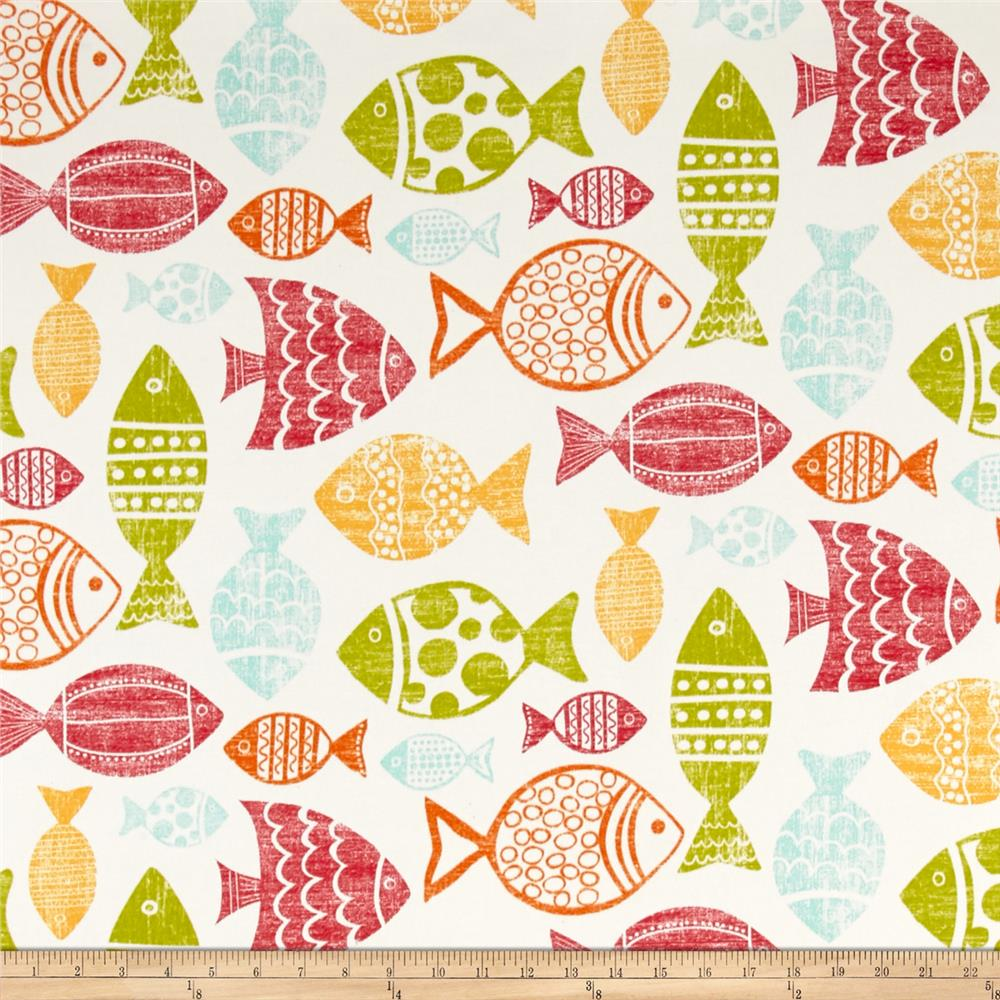 Richloom Indoor/Outdoor Fish Multi