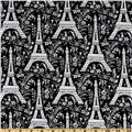 Michael Miller Eiffel Tower Black