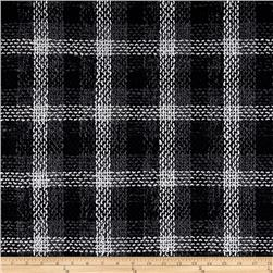 Plaza Plaid Tweed Black/Grey/White