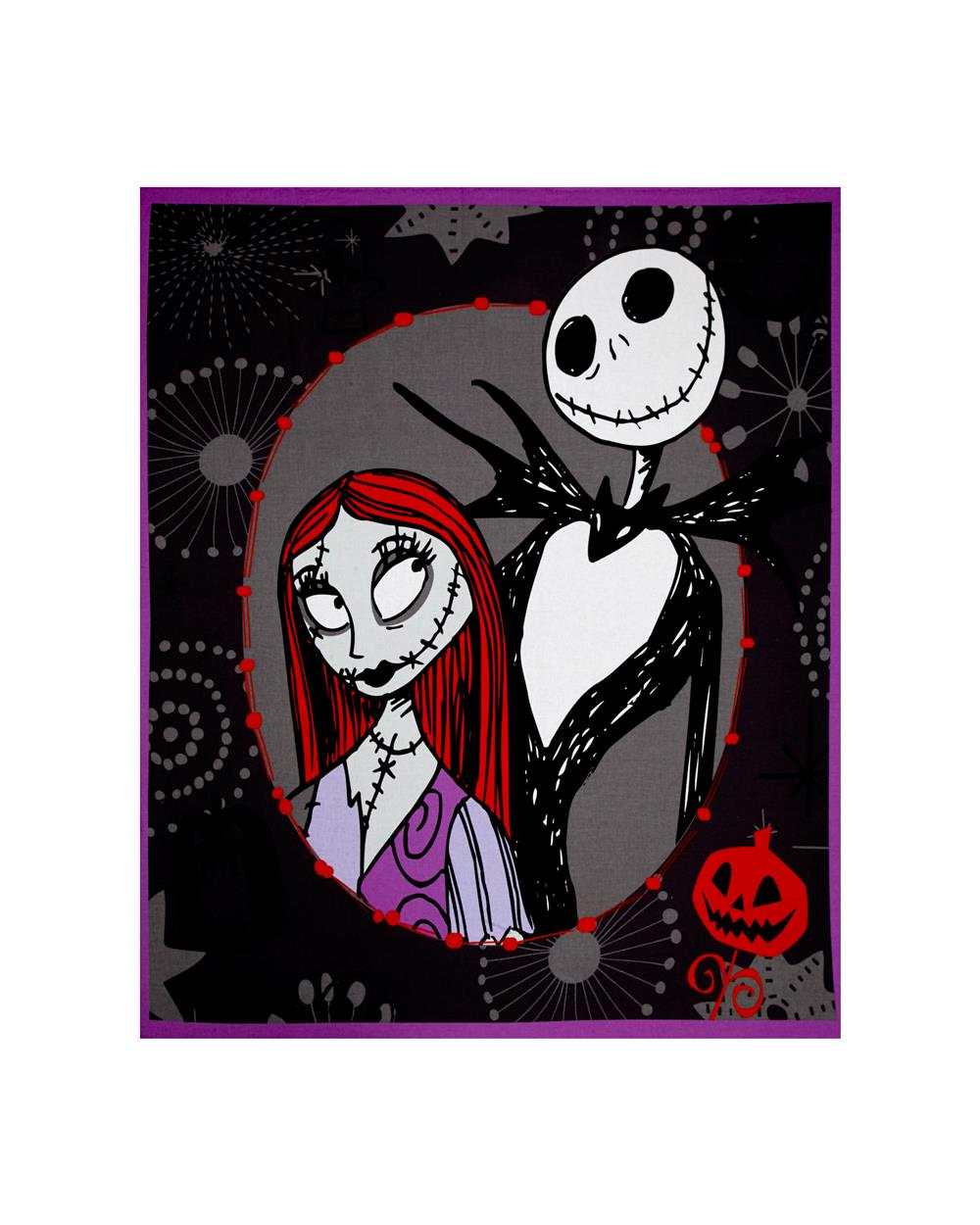 "Disney Nightmare Before Christmas 35"" Panel Multi"