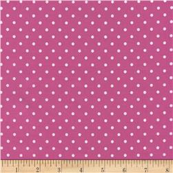 Timeless Treasures Polka Dots Pink