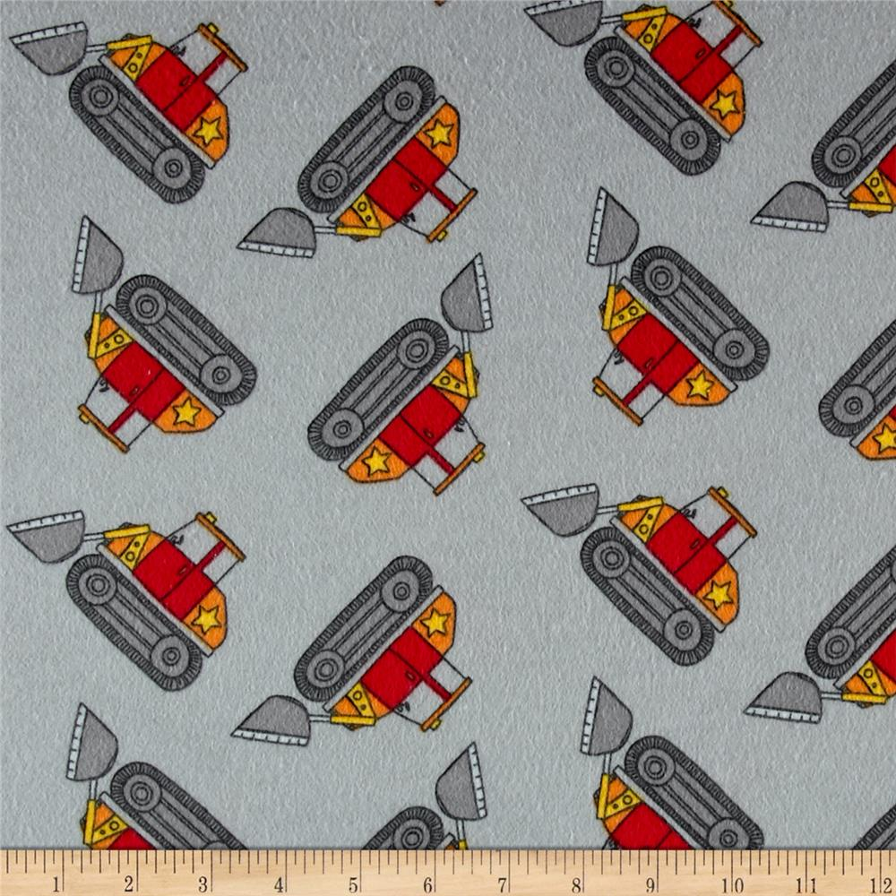 Flannel Loader Grey
