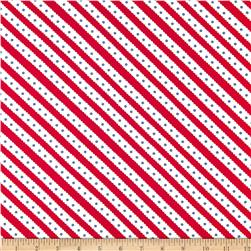 Moda Celebration Stripe Red