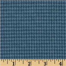 Primo Plaids Flannel Houndstooth Navy