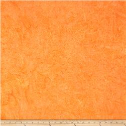Island Batik Swirl Dot Light Orange