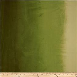 Ombre Hand Dyes Olive Green Fabric