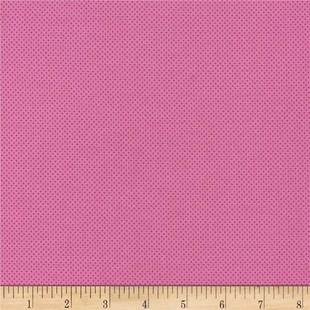 Timeless Treasures Pin Dots Pink