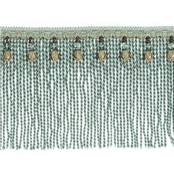 "Fabricut 9"" Mountain Resort Bullion Fringe Shoreline"