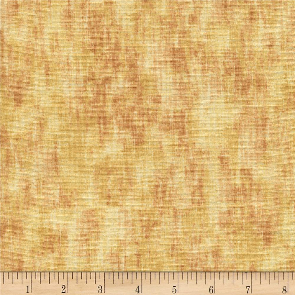 Timeless Treasures Studio Brushed Linen Texture Wheat