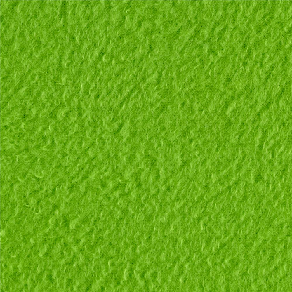 Fleece Solid Lime