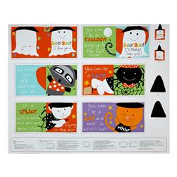 "Sandra Magsamen Huggable & Loveable Holiday 36"" Halloween Book Panel Multi"