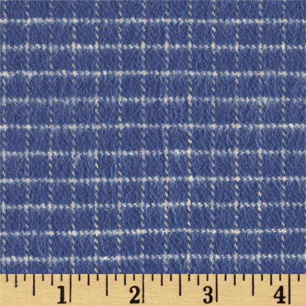 PRIMO COUNTRY SQUIRE FLANNEL CHECK BLUE