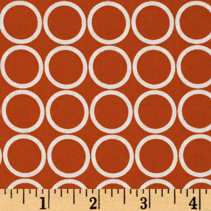 Metro Living Circles Orange