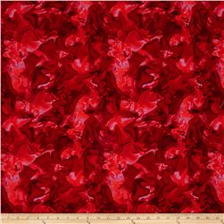 Wildflowers Marble Dark Red
