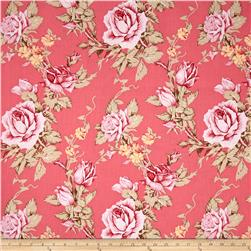 Verna Mosquera Rustic Blush Antique Rose Berry