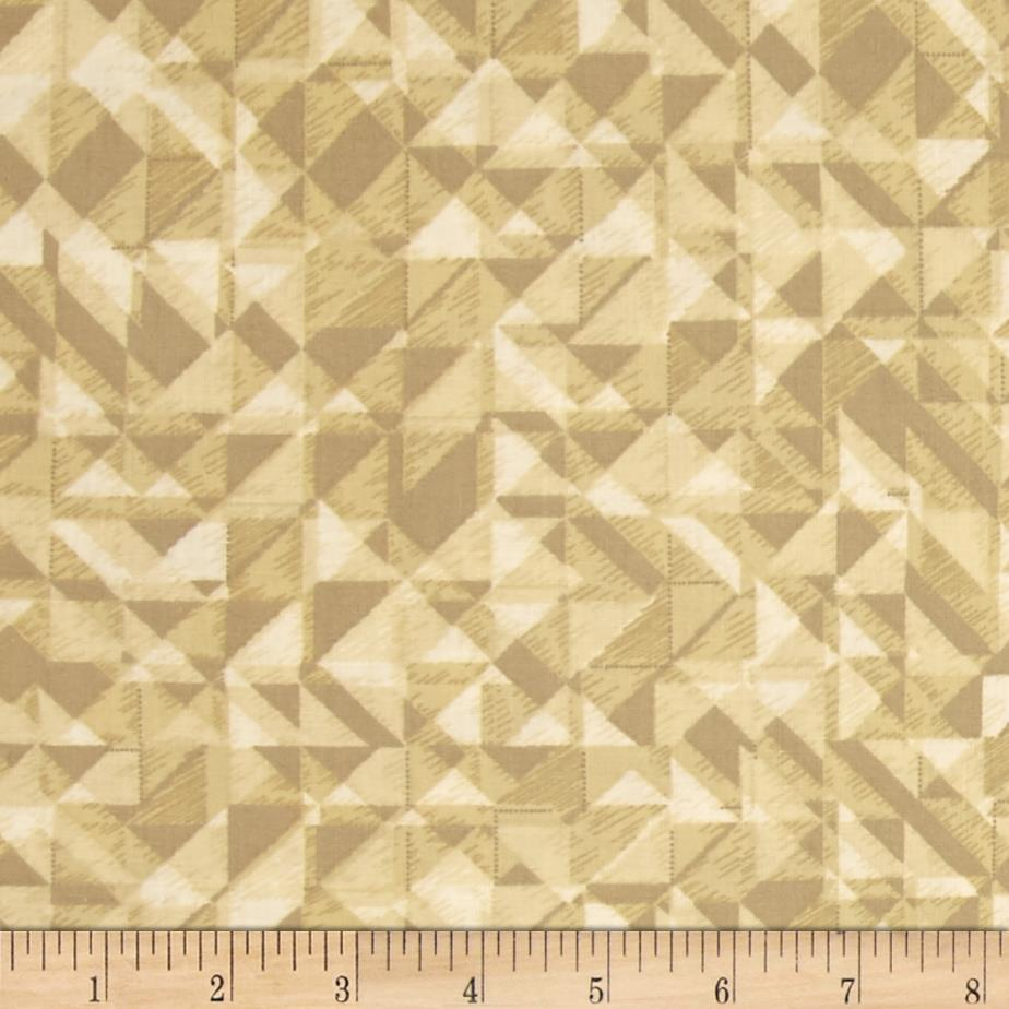 108 In. Quilt Wide Back Prisms Beige