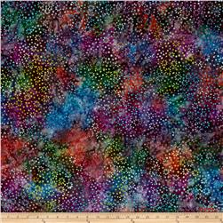 Wilmington Batiks Small Flowers and Dots Multi