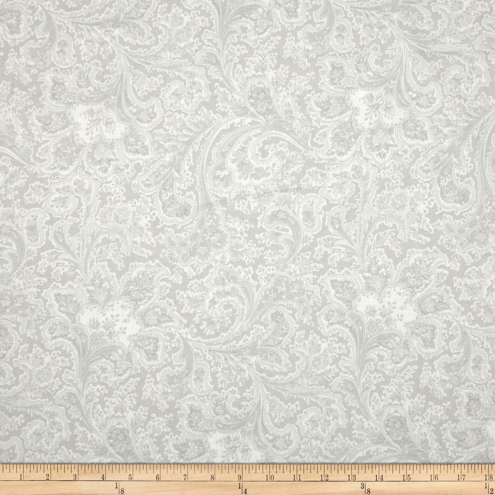 Image of 108'' Wide Quilt Back Rosemont Malabar Dove Fabric