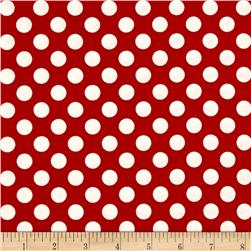Pirates Polka Dot Red