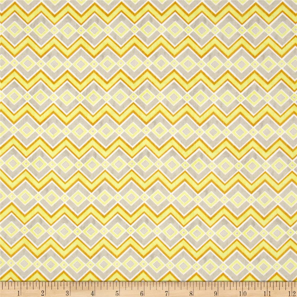 Felicity Chevrons & Diamonds Light Grey