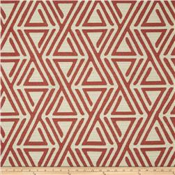 Covington Upholstery Red/Cream